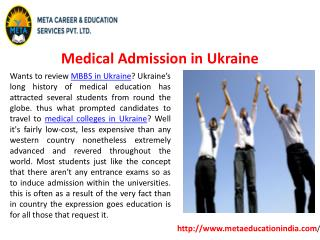 Medical Admission in Ukraine