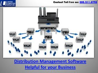 Distribution Management Software Helpful for your Business