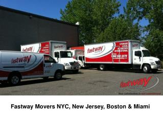 #1 NYC Movers � Fastway Moving Company