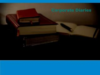 Types of Corporate Diaries and Their Usages