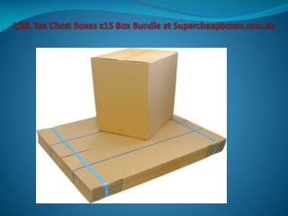 100L Tea Chest Boxes x15 Box Bundle at Supercheapboxes.com.au