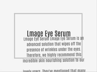 Lmage Eye Serum