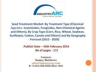 Seed Treatment Market: North America and South America Combined Together