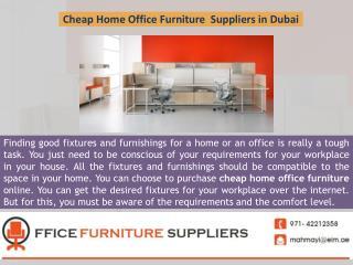 Cheap Home Office Furniture  Suppliers in Dubai