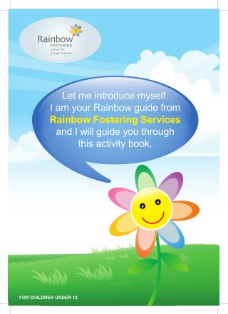 Handbook Guide For Childrens Under 12 - Rainbow Fostering Agency