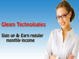 Work from home - Gleam Technologies