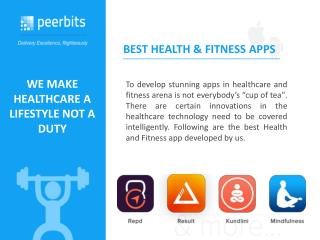 Health & Fitness App Catalog