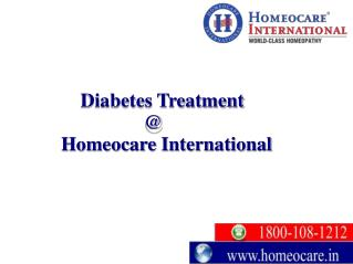 Control your diabetes successfully with Homeopathy