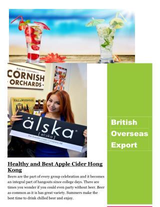 Wholesale online of Hong Kong Beer | British Overseas Export