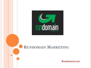 Rundomain - Online marketing luxembourg