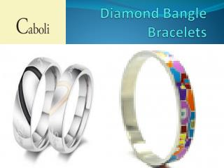 Diamond Necklace |Silver Bracelets For Men |cabolijewelry.com/