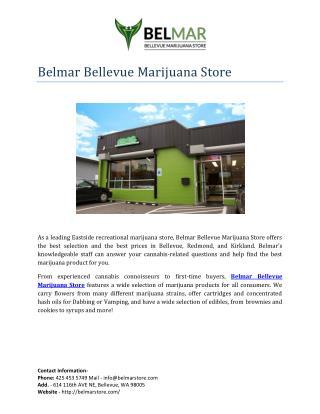 BelMar Bellevue Marijuana Store