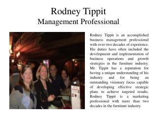 Rodney Tippit Management Professional