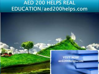 AED 200 HELPS REAL EDUCATION/aed200helps.com