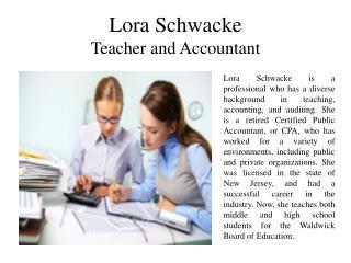 Lora Schwacke
