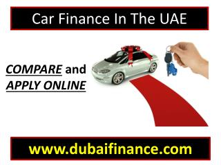 Car finance in the UAE