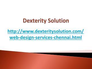 Web Design Company Chennai