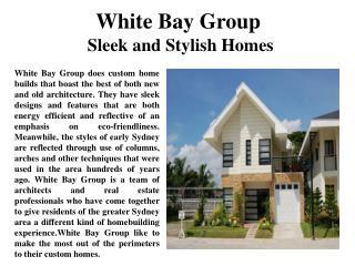 White Bay Group