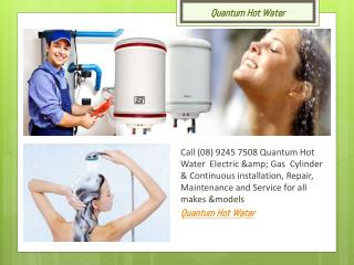 Quantum Hot water