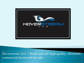 Commercial  hovercraft for sale | Hoverstream