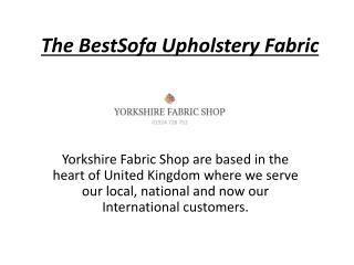 Fabric for Sofas