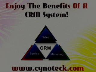 Benifits Of A CRM System