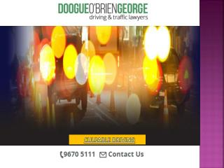 Doogue O�Brien George is one of Victoria�s largest defence firms.