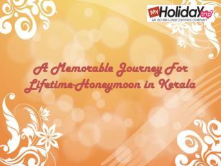 A Memorable Journey For Lifetime - Honeymoon in Kerala