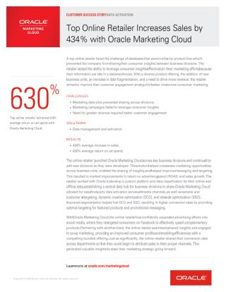 Online-Retailer-Customer-Success-Oracle