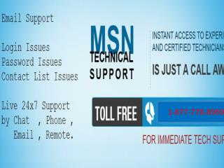 Service     [1-877-778-8969]    Msn Tech Support Number  USA