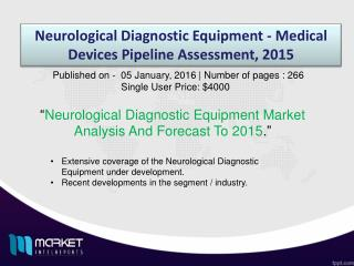 Global Neurological Diagnostic Equipment Market Forecast & Future Industry Trends