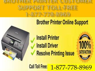 |1-877-778-8969|  ## Brother  Printer ## Technical ## Help ## Services ## USA