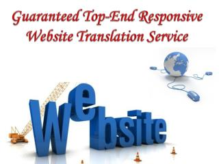 Guaranteed Top-End Responsive Website Translation Service