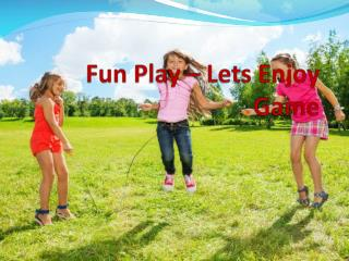 Kids Play Equipment India