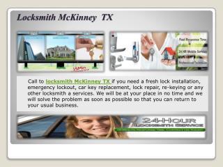 Locksmith McKinney TX