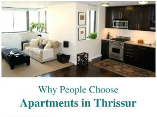 Why People Choose Apartments in Thrissur ?