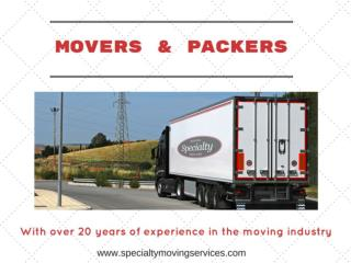 Best Movers and Packers in South Florida