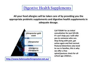 digestive health supplements