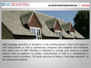 Roofing Companies OKC