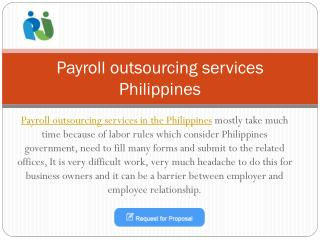 Payroll outsourcing service in the Philippines