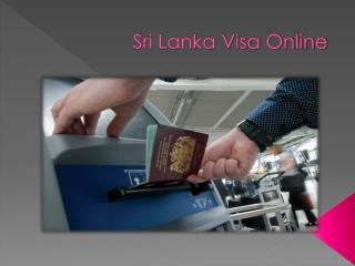 Sri Lanka Tourist Visa for Indian Tourists