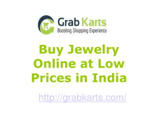 Shop Jewelry Online at Low Prices in India
