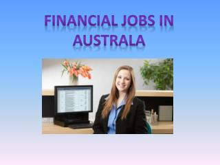 Financial Jobs in Australia