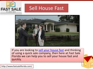 Sell Your House Fast