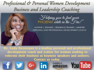 Professional & Personal Women Development Business and Leadership Coaching