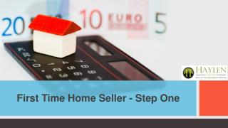 5 Tips for the First-Time Home Seller