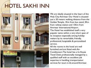 Hotel Sakhi Inn