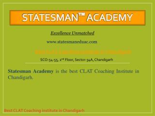 Best Clat Coaching Institute In Chandigarh