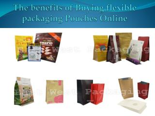 The benefits of Buying flexible packaging Pouches Online