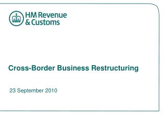 Cross-Border Business Restructuring